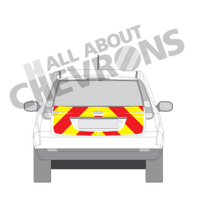 Ford Fiesta Chevrons 2002 - 2008