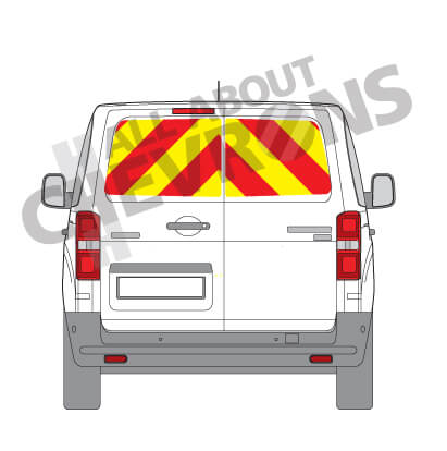 Vivaro DD back panels (New Shape) 2019 - Present