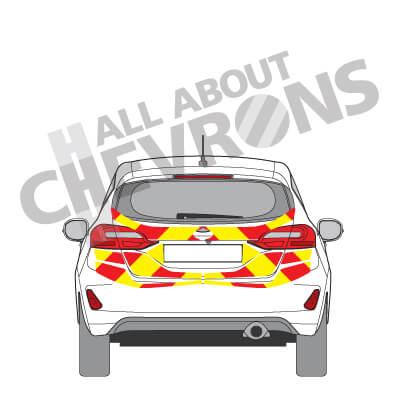 Ford Fiesta Chevrons 2017 - Present